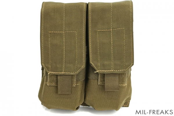 "AWS MOLLE ""Low Vis"" M4 / MP5 マガジンポーチ コヨーテ【生産終了品】"